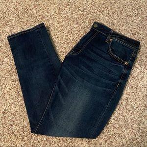 AEO | Men's Slim Straight Dark-Wash Jeans